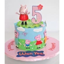 Торт свинка Пеппа (3685)