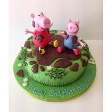 Торт свинка Пеппа (3686)