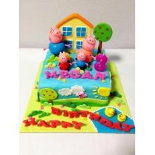 Торт свинка Пеппа (3687)