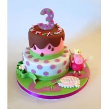 Торт свинка Пеппа (3688)