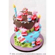 Торт свинка Пеппа (3691)