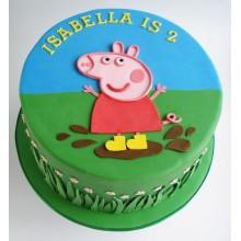Торт свинка Пеппа (3692)