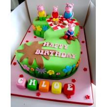 Торт свинка Пеппа (3693)