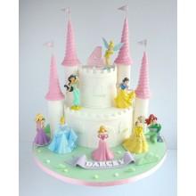Торт сказочные замки (3698)