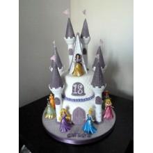Торт сказочные замки (3702)