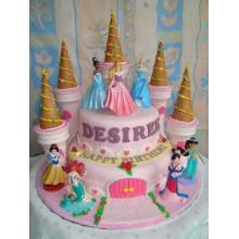 Торт сказочные замки (3704)