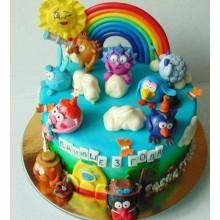 Торт смешарики (3705)