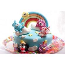 Торт смешарики (3709)