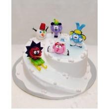 Торт смешарики (3713)