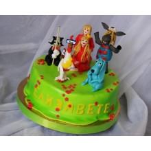 Торт советские мультфильмы (3730)