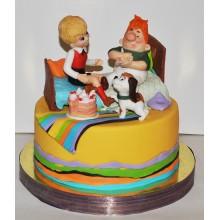 Торт советские мультфильмы (3734)
