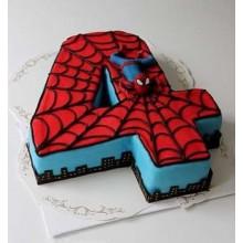 Торт Человек паук (3743)