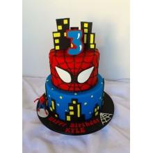 Торт Человек паук (3755)
