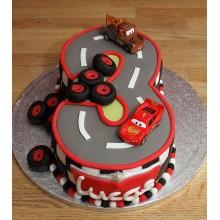 Торт тачки (3759)