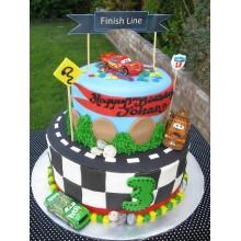 Торт тачки (3761)