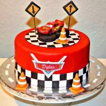 Торт тачки (3763)