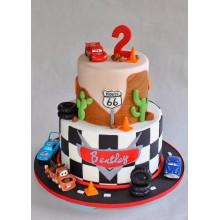 Торт тачки (3764)