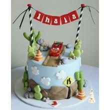 Торт тачки (3767)