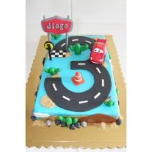 Торт тачки (3774)