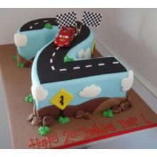 Торт тачки (3780)