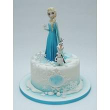 Торт холодное сердце (3798)