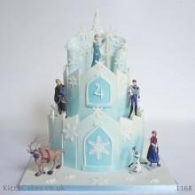 Торт холодное сердце (3814)