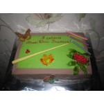 УЧ 5 Торт в виде школьной доски