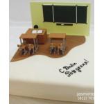 УЧ3 Торт с школьными партами