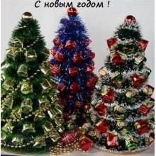 Е1 Новогодние елки с доставкой, украшенные конфетами